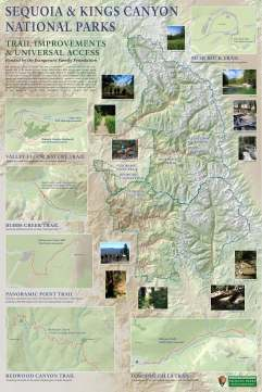 Trail Improvements and Universal Access Appreciation Map