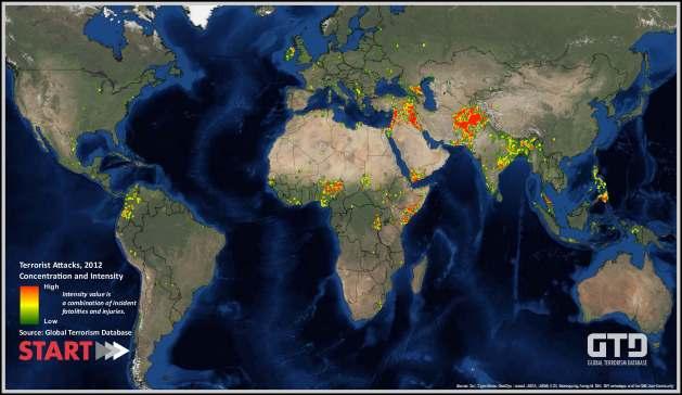 Terrorist Attacks, 2012