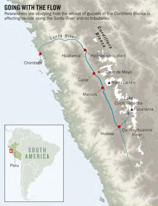 Map for web page
