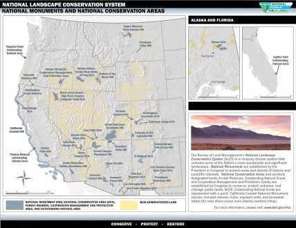 National Monuments and National Conservation Areas, NLCS, BLM