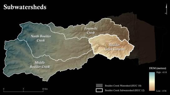 Small map for digital presentation